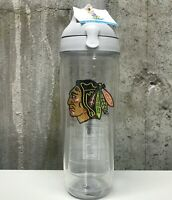 Chicago Blackhawks Tervis Tumbler 24 oz Flip Lid Insulated Cup Water Bottle NEW