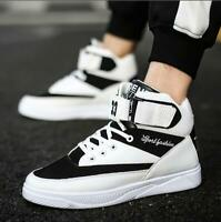 New Men's Athletic Running Shoes High Top Casual Sneakers Sports shoes Loafers