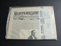 HARPER'S WEEKLY A Journal of Civilization -March 7, 1863 - Reprint 1960's.