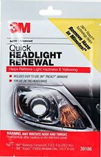 3M 39186 Quick Headlight Renewal Plus ***Improve and Extend Clarity of Lenses***