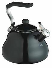 Black Whistling Kettle for Aga Hob STOVE WOOD BURNER - Le'Xpress 2.0 Litre