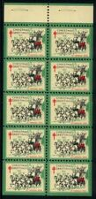 1931 Christmas Seals Booklet Pane MNH