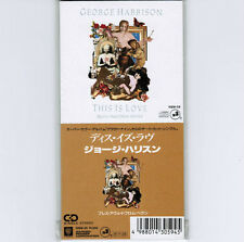 """SEALED! GEORGE HARRISON This Is Love/Breath Away From Heaven JAPAN 3"""" CD 10SW-59"""