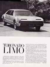 "1966 OLDSMOBILE TORONADO ""LIMO""  ~  NICE ORIGINAL ARTICLE / AD"