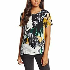 NEW * SELECTED FEMME * SFALLEY MULTI ABSTRACT PRINT TOP SIZE 6 RRP £55
