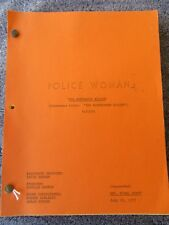 Police Woman 1977 TV SHOW SCRIPT Angie Dickinson
