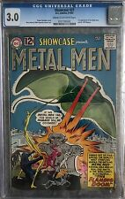 (1962) SHOWCASE #37 1st appearance of THE METAL MEN! CGC 3.0! Cream to OWP!