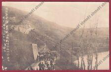 ALESSANDRIA ACQUI 106 FRANA MONTE STREGONE 6 Aprile 1907 VIAGGIATA - REAL PHOTO