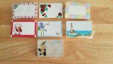 "Lot Of Enclosure Gift Cards Florist Gift Basket Supplies 3.5"" X 2.5"" no envelope"