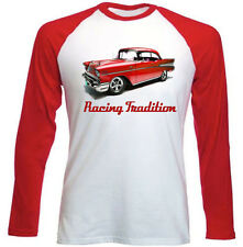 CHEVROLET BEL AIR COUPE 1957 INSPIRED - NEW AMAZING GRAPHIC TSHIRT S-M-L-XL-XXL