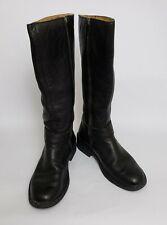 Born Womens Boots Shoes Zipper Black Size US 7 EU 38