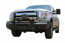 New Ranch Style Smooth Winch Front Bumper 11 - 16 Ford F250 F350 Super Duty