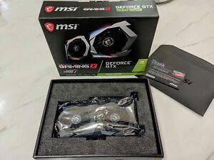 MSI - GAMING X NVIDIA GeForce GTX 1660 SUPER 6GB GDDR6 PCI Express 3.0 Graphics