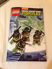 SDCC 2014 Nickeloden Lego TMNT Exclusive Comic
