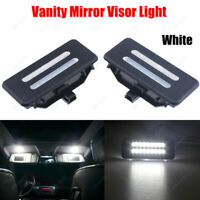 2x Error Free LED SMD Vanity Mirror Visor Light For BMW E60 E90 E70 E71 E84 F25