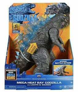 "Godzilla VS Kong 13"" Mega Godzilla Figure with Lights & Sounds - IN HAND"
