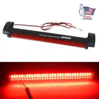 """11"""" 32 LED Beacon Hazard Emergency Dash Mount Flash Warning Strobe Light Bar Red"""