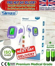 SIMZO Digital Infrared Thermometer Non-Contact IR Forehead Adult Baby Temperatur
