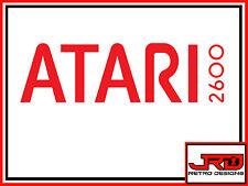 Atari 2600 Pegatina de vinilo en Rojo