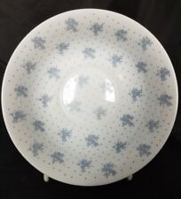 Arcopal China Blue Cereal Soup Bowl White with Blue Flowers and Dots