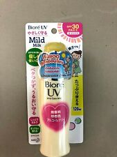 Kao BIORE UV Mild Care Milk Sunscreen for Face & Body SPF30 PA++ 2019 Japan F/S