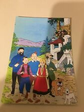CARTE POSTALE TINTIN collection elysa  200 EX HOMMAGE A HERGE PASTICHE