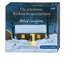 ASTRID LINDGREN - DIE SCHÖNSTEN WEIHNACHTSGESCHICHTEN 3 CD NEU