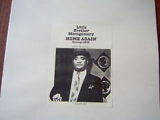 """Little Brother Montgomery  Vinyl LP """"Home Again"""" NEW"""