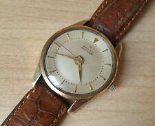 Men's Vintage Gold Capped Zenith Bumper Automatic Wrist Watch