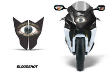 AMR Racing Head Light Eyes Suzuki GSXR 750R 2011-2014 Headlight Parts BLOODSHOT