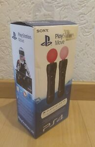Sony PlayStation Move Motion Bluetooth Controller Twin Pack 2x PS4 VR Stick