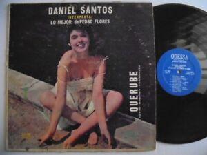 DANIEL SANTOS  Lo Mejor ODESSA Latin Boleros LP HEAR
