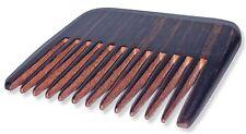 Wooden Dark Brown Pocket Comb - Mens Grooming Facial Hair Beard Barber Brush