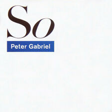 So 25th Anniversary Deluxe Edition Box CD/DVD/LP Peter Gabriel 8 discs NEW