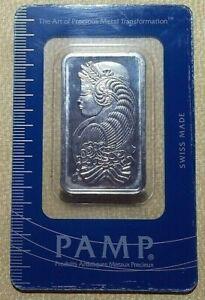 1 OZ Platinum 999.5 Bar certificate number 049925, metal weight 31.10 gram