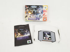 Star Wars Shadows of the Empire Nintendo 64 CIB w/ Box & Manual Complete In Box