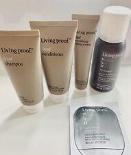 Living Proof NO FRIZZ Detox Set Kit ~ Dry Shampoo Conditioner Styling Cream NEW