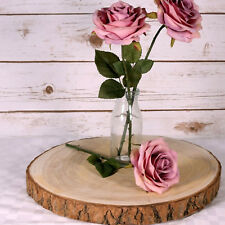 Wood Slice Floristry Weddng cake rustic board Hobby and Craft 35cm average