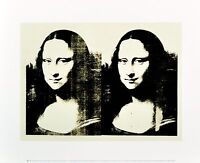 Andy Warhol Double Mona Lisa 1963 Poster Kunstdruck Bild 28x36cm - Germanposters