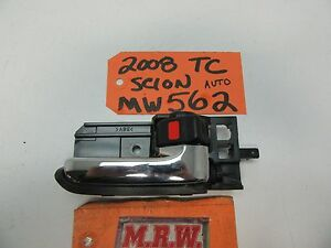05-10 SCION TC RIGHT INNER DOOR HANDLE LOCK SWITCH CHROME PASSENGER R RH RF OEM