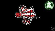 EAT Sleep HONDA Auto Adesivo decalcomania JDM DRIFT HONDA RACE CAR Adesivo Decalcomania