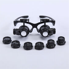 10X 25X Dentist LED Surgical Loupes Jewelry Binocular Glasses Dental Magnifier