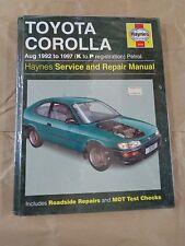 Manuale - HAYNES Manual 3259   : Toyota Corolla 1992>1997