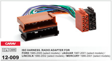 CARAV 12-009 Conector ISO OEM Radio Adaptador FORD JAGUAR LINCOLN MERCURY
