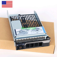 """Hybrid Drive Carrier 3.5"""" tray 2.5"""" adapter 9W8C4 F238F for R730 R720 R530 T630"""