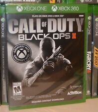 Xbox One 1 Call of Duty Black Ops 2 ll Shooter NEW Sealed Region Free USA