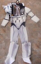 Star Wars Deluxe Stormtrooper Youth Costume Large 12-14 Ages 8-10 Boys Child~NWT