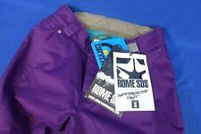 New Rome SDS Suffragette Women's Snowboard Ski Pants - Purple - Size Small