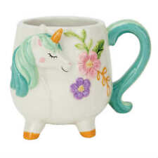 Boston Warehouse 18-oz Turquoise Unicorn Mug