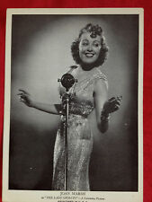 """1938 JOAN MARSH """"The Lady Objects"""" A Columbia Picture Aquatoned Publicity Photo"""